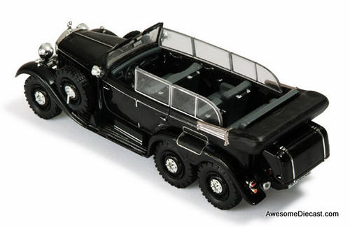 IXO 1:43 1938 Mercedes W31 Type G4 Six-Wheeler