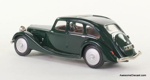 Somerville Models 1:43 1937 Riley Kestrel - Green