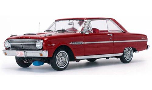 SunStar 1:18 1969 Ford Falcon Hard Top, Rangoon Red