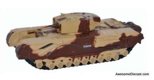 Oxford Diecast 1:76 Churchill Tank MKIII Kingforce - Major King