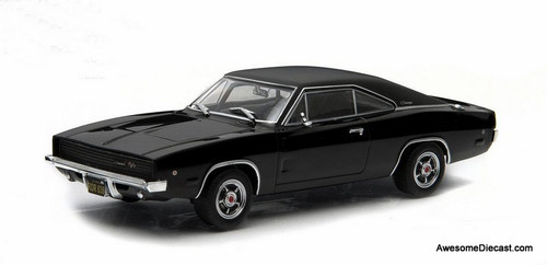 Greenlight 1:43 1968 Dodge Charger R/T: Steve McQueen - Bullitt