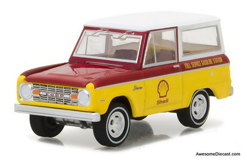 Greenlight 1:64 1967 Ford Bronco - Shell Oil
