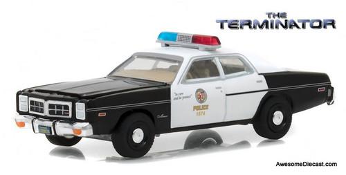 Greenlight 1:64 1977 Dodge Monaco: Metropolitan Police - The Terminator