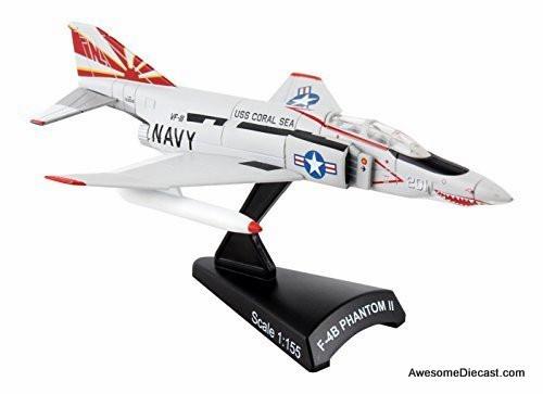 Postage Stamp 1:155 F-4B Phantom II VF-111 Sundowners