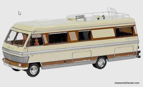Schuco 1:43 Hymermobil 900 RV Motorhome Caravan Camper