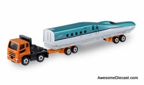 Tomica Mitsubishi Fuso Bullet Train Transport Truck
