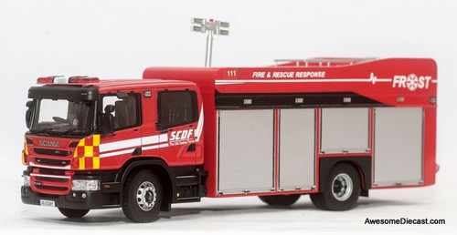 Masterpiece 1:43 Scania Fire & Rescue Operation Support Truck (FROST): Singapore Fire Service