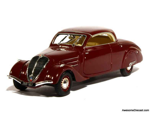 Norev 1:43 1937 Peugeot 402 Eclipse Coupe