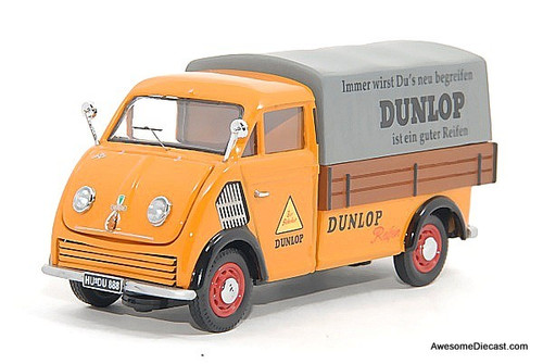 Premium ClassiXXs 1:43 Rapid Cam Delivery Truck: Dunlop Tires
