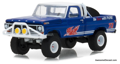 Greenlight 1:64  1972 Ford F-100: Pure Oil Co. Firebird Racing Gasoline