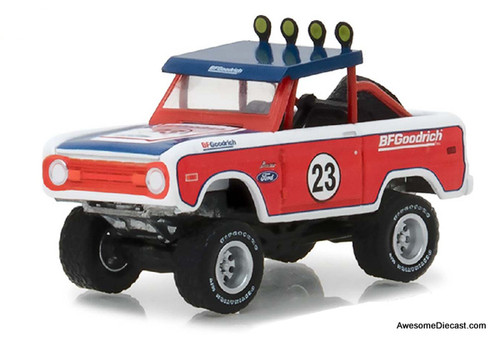 GreenLight 1:64 1966 Ford Baja Bronco: BF Goodrich