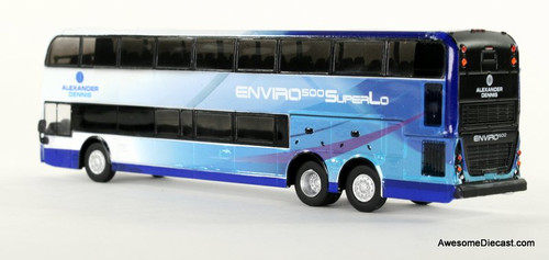 Iconic Replica 1:87 Alexander Dennis Enviro 500 Double Decker Bus: Corporate 3/4 Rear 87-0085