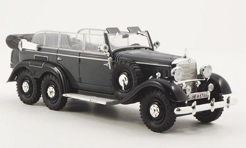 Whitebox 1:43 1938 Mercedes-Benz G-4 Parade Car (Gray)