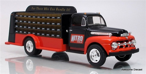 First Gear 1:34 1951 Ford F-6 Bottlers Truck: Nitro Cola