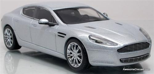 Minichamps 1:43 2010 Aston Martin Rapide: Silver