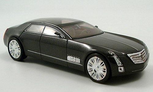 Norev 1:43 Cadillac Sixteen Concept Car: Midnight Silver Metallic