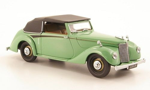 Oxford Diecast 1:43 Armstrong Siddeley Hurricane Convertible Green