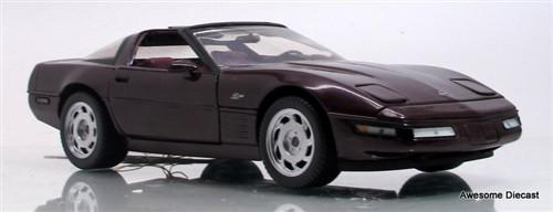 Franklin Mint 1:24 1993 Corvette ZR-1 (Maroon)