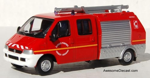Del Prado 1:57 2002 Fiat Ducato Light Pump Rescue Unit