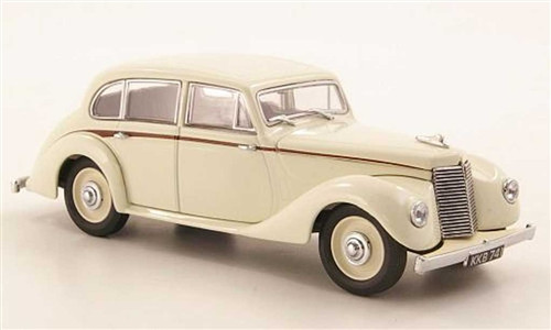 Oxford Diecast 1:43 Armstrong Siddeley Lancaster-Ivory