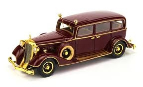 TSM 1:43 1932 Cadillac Deluxe Tudor Limousine 8C: The Last Emperor of China