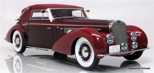 Minichamps 1:18 1939 Delage D8-120 Cabriolet