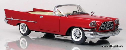 Franklin Mint 1:24 1957 Chrysler 300 (Red)