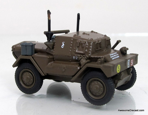 Oxford Diecast 1:76 Dingo Scout Car 10th Mounted Rifles - 10th ACB Polish