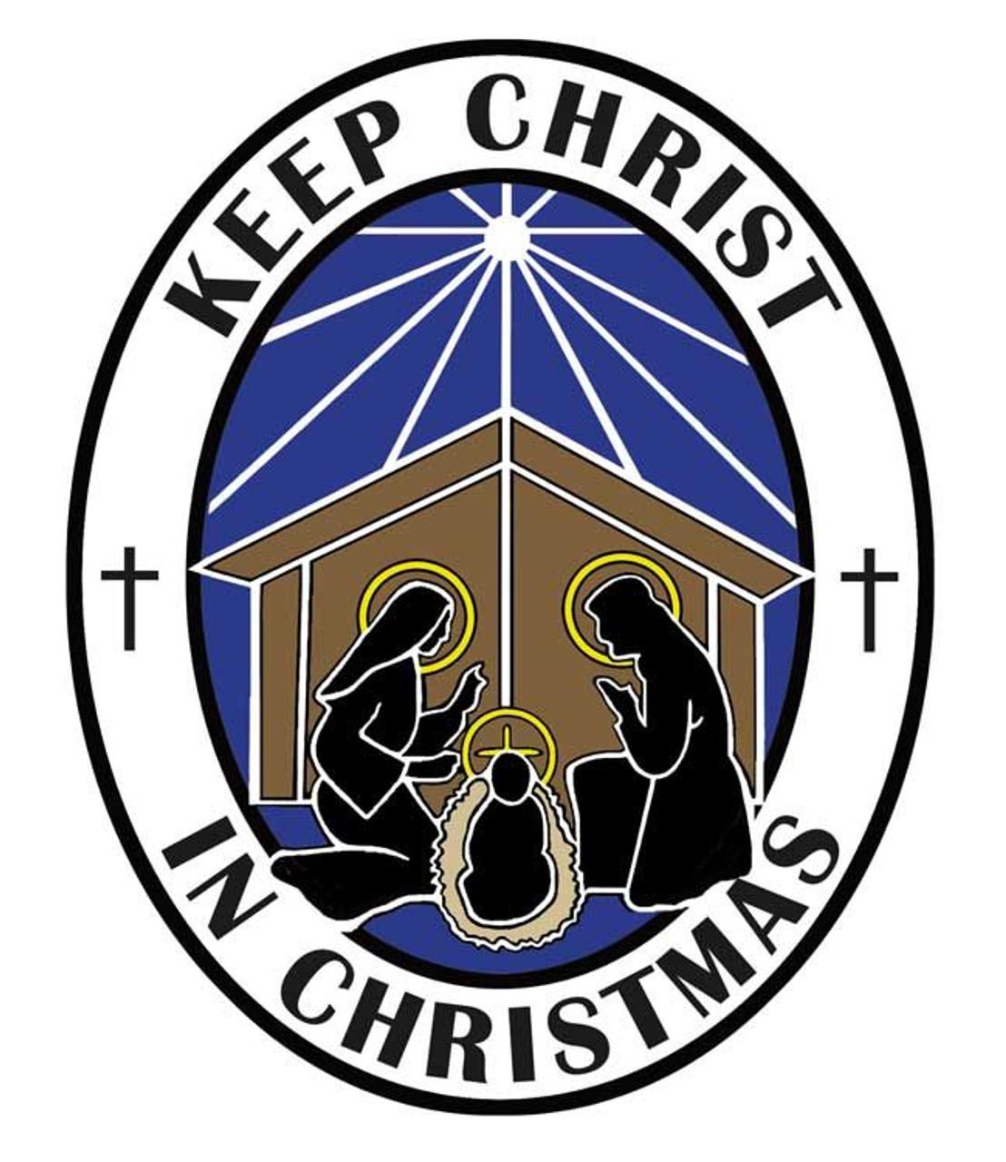 Keep Christ in Christmas Car Magnet Style DV18245 - F.C. Ziegler Company
