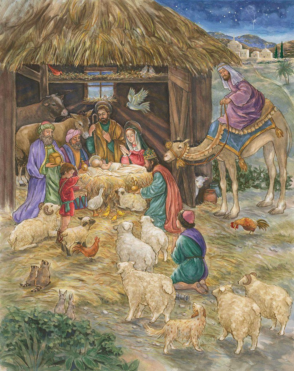 advent calendar adoration envelope bible text f c. Black Bedroom Furniture Sets. Home Design Ideas