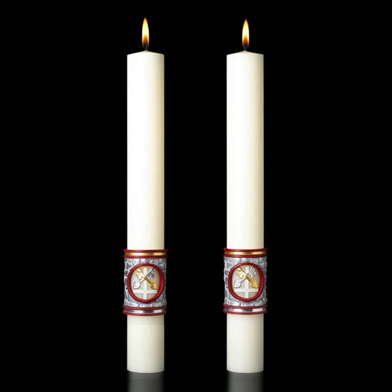 Upon This Rock Eximious Complementing Altar Candle 4 Sizes