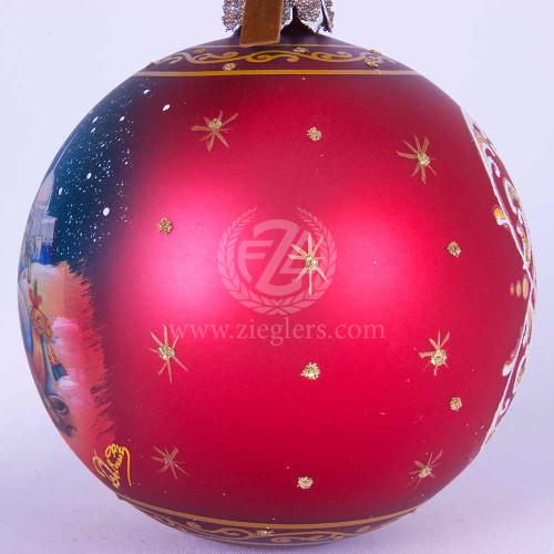 Vintage Religious Christmas Ornament: Wise Men Christmas Ornament