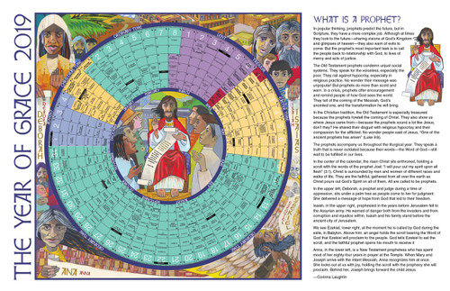2019 year of grace liturgical calendar laminated eleven by 17 inch sheet 9781616714086 ltyg19sl