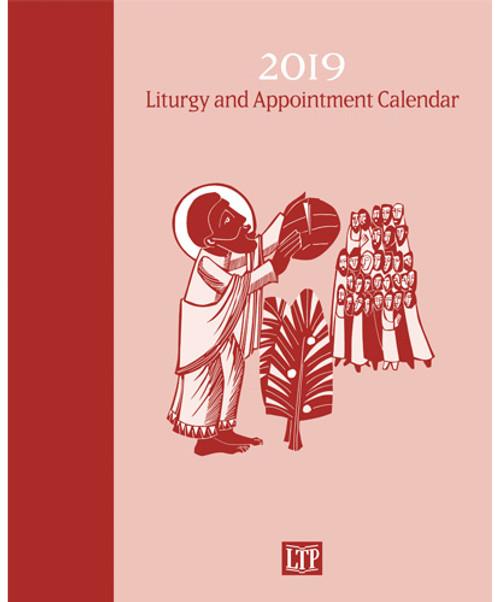liturgy appointment calendar 2019 spiral bound 814805010382 lac19