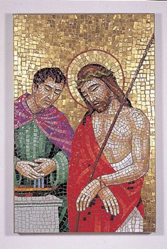 Stations Of The Cross 24 Quot X 16 Quot Mosaic For Church