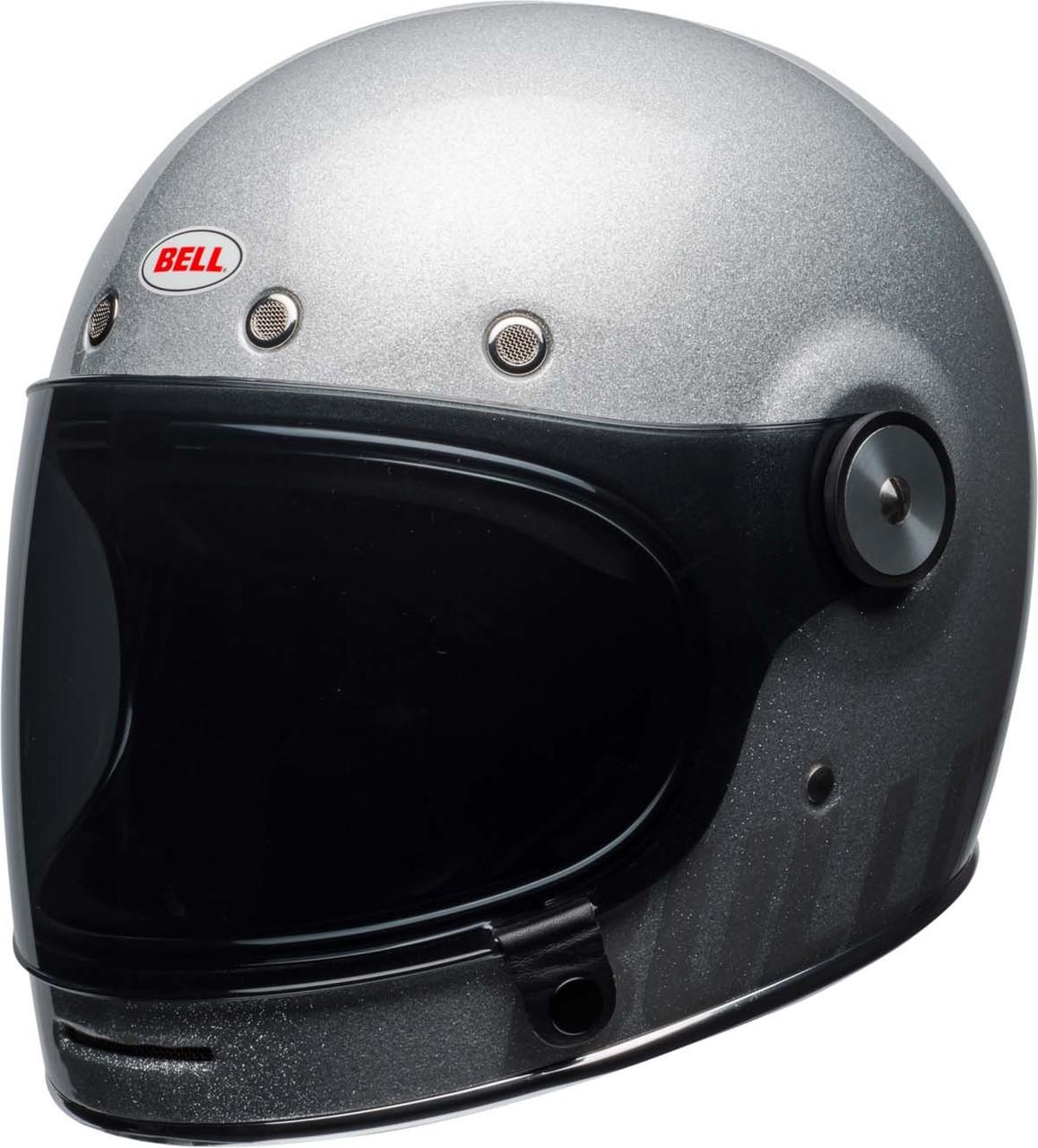 Bell Bullitt Helmet Gloss Silver Flake Front Left