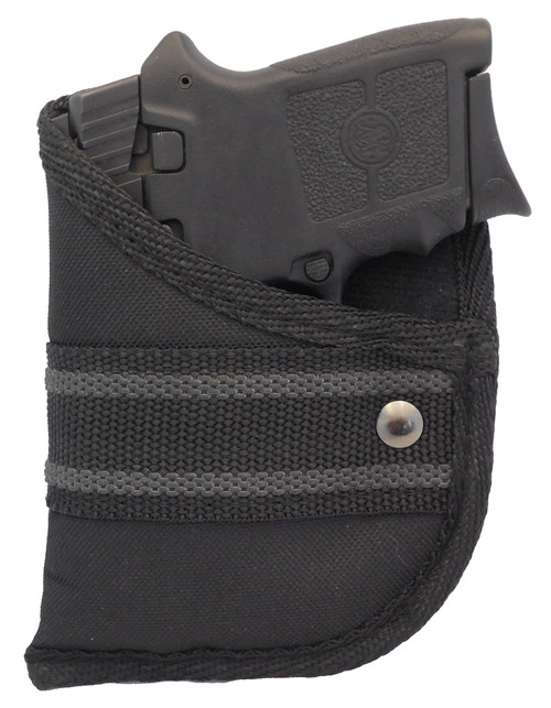 Woven Poly Pocket Holster Fits Smith & Wesson Bodyguard 380 (W2)