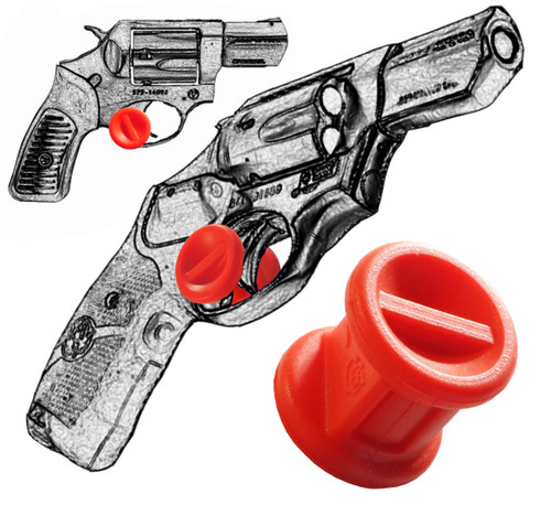 Ruger LCR 22, 38 Special and 357 Magnum Revolvers Fast Draw Micro Holster Trigger Stop