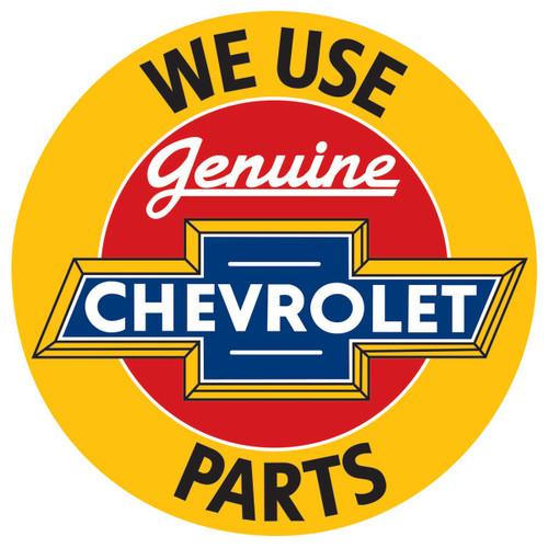 Chevrolet® Parts Tin Sign