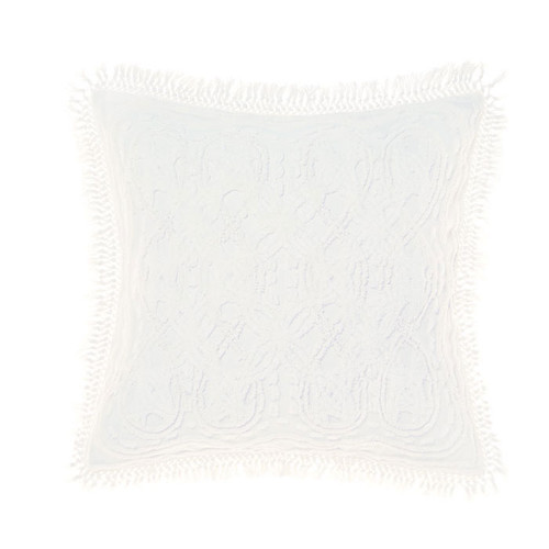 Drift White Pillowcase by Linen House|European