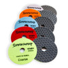 "Sidewinder DRY Venom Step Diamond Polishing Pads 4"" velcro"