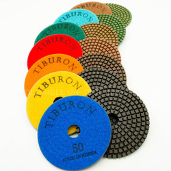Tiburon 3.2mm Extra Thick Color Resin Diamond Polishing Pads