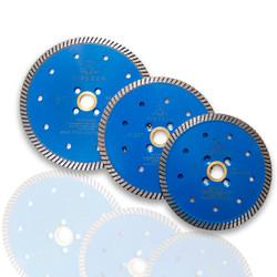 Blue Tiburon High Performance Quartzite/Quartz Diamond Turbo Blades  (multi sizes)