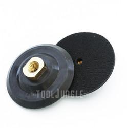 4 inch Flex RUBBER Backer pad- Flex,Medium,Rigid