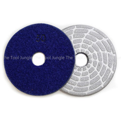 4 inch Metal Diamond Polishing Pads