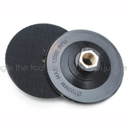 4 inch  Quality Ridged Plastic Backer Pad -5/8 11 thread