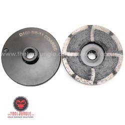 """COARSE GRIT 4"""" Resin Metal Diamond Grinding Cup Wheel"""