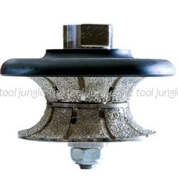 V-30mm Full Bullnose  Grinder Profiling Bits  5/8-11 thread