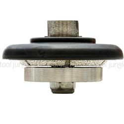 5 mm x 65mm x 5/8-11 thread   Grinder Profiling Bit - E-Shape
