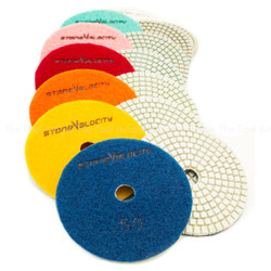 5 Inch Diamond Polishing Pads